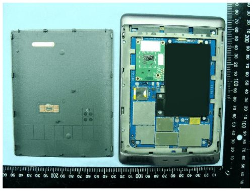 Inside the Kindle Touch e-Reading Hardware