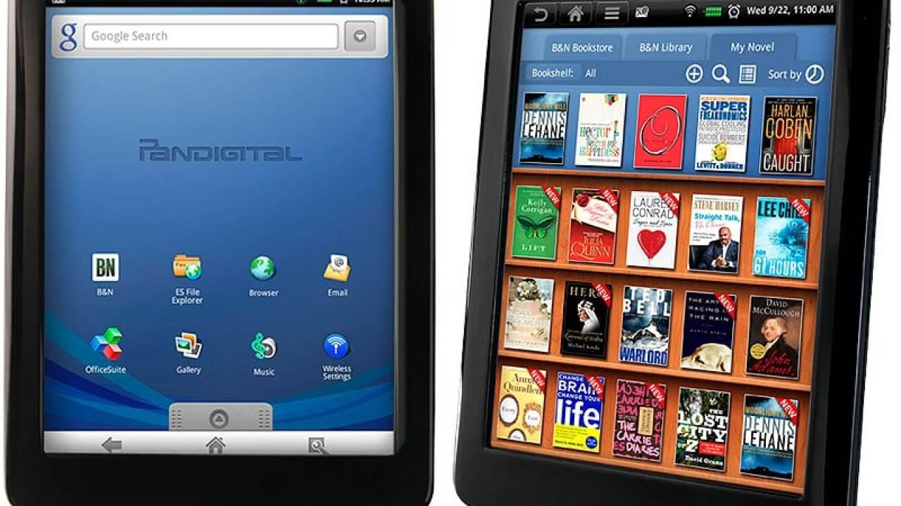 New Update for Pandigital Novel (Black 7
