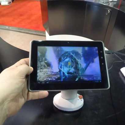 A Brief Hands-On with GadMei's 3D Tablet Conferences & Trade shows e-Reading Hardware