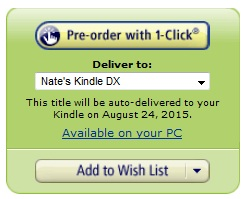 Amazon Now a True Publisher - Some Ebooks Now Scheduled for a 2015 Release humor