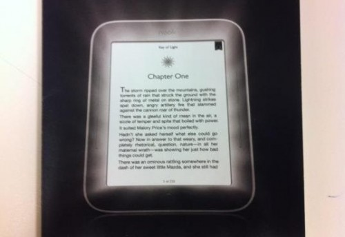 New Nook to Have Front-Lit Screen e-Reading Hardware