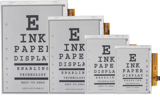 E-ink Reports Revenues Up Last Quarter e-Reading Hardware Screen Tech