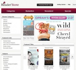 Sony Launches a Browser Based eBookstore (Finally) e-Reading Software eBookstore