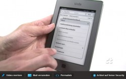 Security Hole Found in Kindle Touch Web Browser e-Reading Hardware
