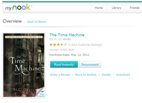 B&N Launches Nook for Web e-Reading Software eBookstore