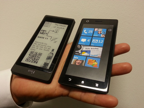 Amazon's Dual Sided Tablet Idea Shows up at IFA Berlin - as a Smartphone Conferences & Trade shows e-Reading Hardware