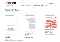 New eBook Search Engine Launched - For PDFs Uncategorized