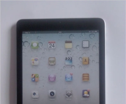 First Real Photos of the iPad Mini Leaked Online? e-Reading Hardware iDevice