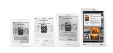 Kobo Unveils 2 New eReaders and an Android Tablet e-Reading Hardware
