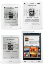 Kobo eReaders, Tablet Once Again Available on the Kobo Website e-Reading Hardware