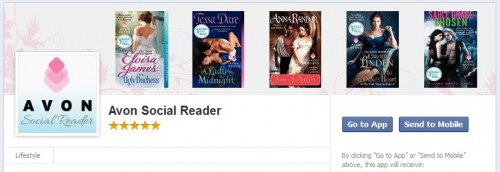 Avon Books Announces DRM-Free eBooks (Yay!) and New Social Reading App (Boo!) eBookstore