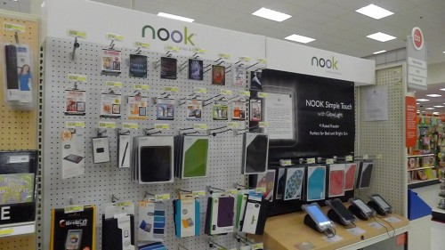Target Signs New Deal With Barnes & Noble e-Reading Hardware