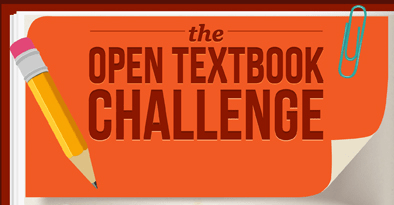 Infographic: The Open Textbook Challenge Infographic
