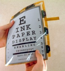 Good News: E-ink Didn't Lose Quite So Much Money Last Quarter E-ink e-Reading Hardware