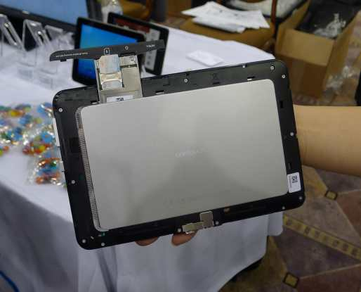 """Alcatel Unveiled an Upgradable 7"""" Android Tablet at CES 2013 Conferences & Trade shows e-Reading Hardware"""