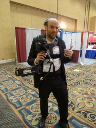 Biggest Camera Geek at CES 2013 Conferences & Trade shows