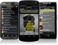 Audible for Android Updated With New Support for External Storage Audiobook e-Reading Software