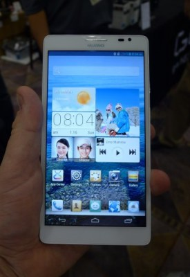 A Brief Hands On With the Huawei Ascend Mate Conferences & Trade shows e-Reading Hardware