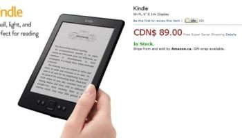 Amazon Now Forcing Canadian Kindle Owners to Switch to