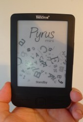 Hands On With the World's Smallest eReader: the Pyrus Mini Reviews