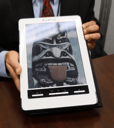 E-Ink's Triton 2 Color Screen Gains Frontlight, Loses Weight (video) Conferences & Trade shows e-Reading Hardware