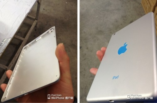 Next iPad Mini Shell Leaked Online Apple Rumors