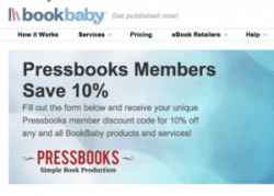 Pressbooks Signs Distribution Deal With Bookbaby Self-Pub