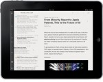 Reeder Updated - Once Again Available on the iPad Uncategorized