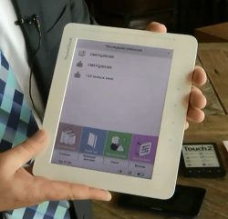 "Pocketbook Unveils the World's First 8"" Color E-ink eReader in Russia (video) e-Reading Hardware"