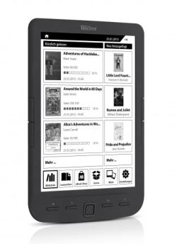 "Trekstor Launches the Pyrus Maxi 8"" eReader e-Reading Hardware"