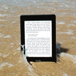 Waterfi's Waterproof Kindle Now Available on Amazon e-Reading Hardware Kindle