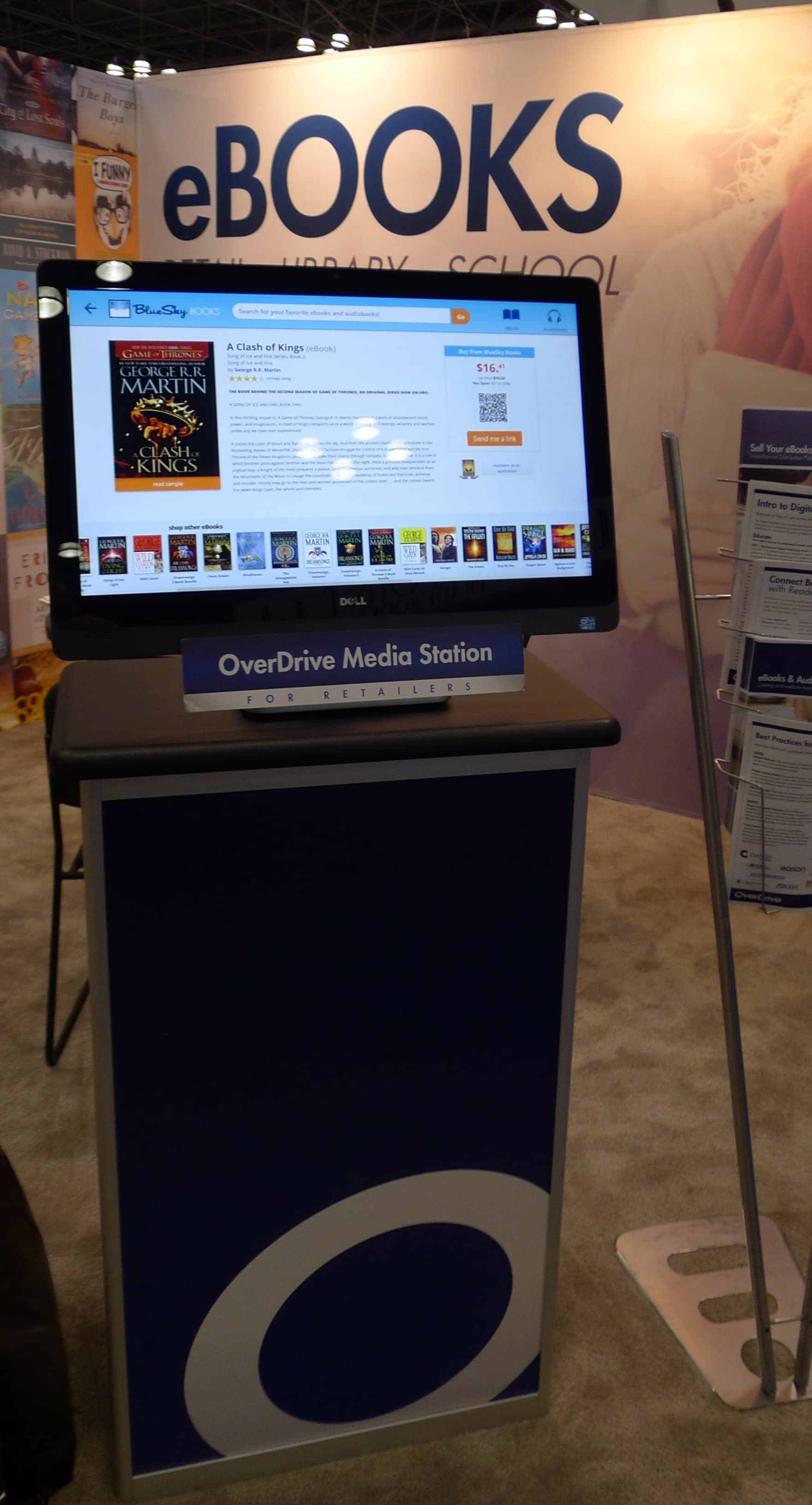 Hands On With OverDrive Retail eBook Kiosk | The Digital Reader