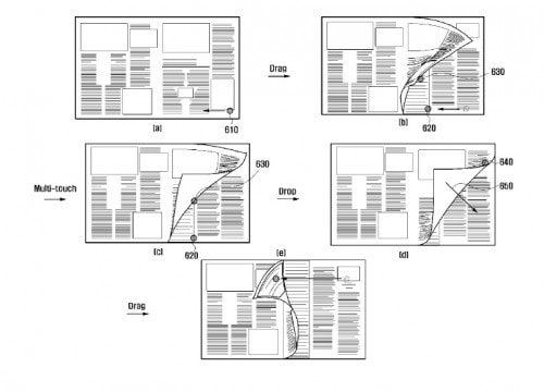 Move Over Apple - Samsung Files For a Patent on Page Turns Intellectual Property