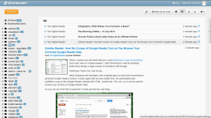 Silver Reader Promises to Be as Fast and Sturdy as Google Reader Google Reader Alternatives News Reader