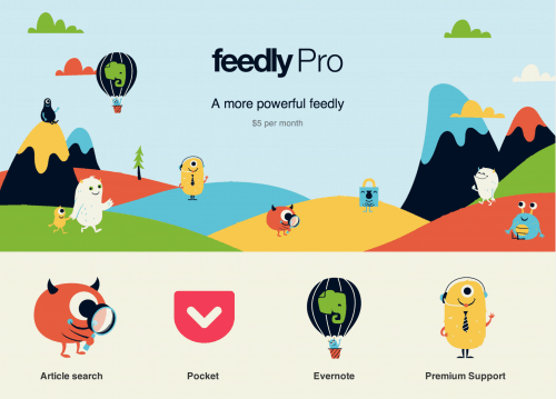 Feedly Pro Now Available to All - a $9 Service With a $45 Price Tag News Reader
