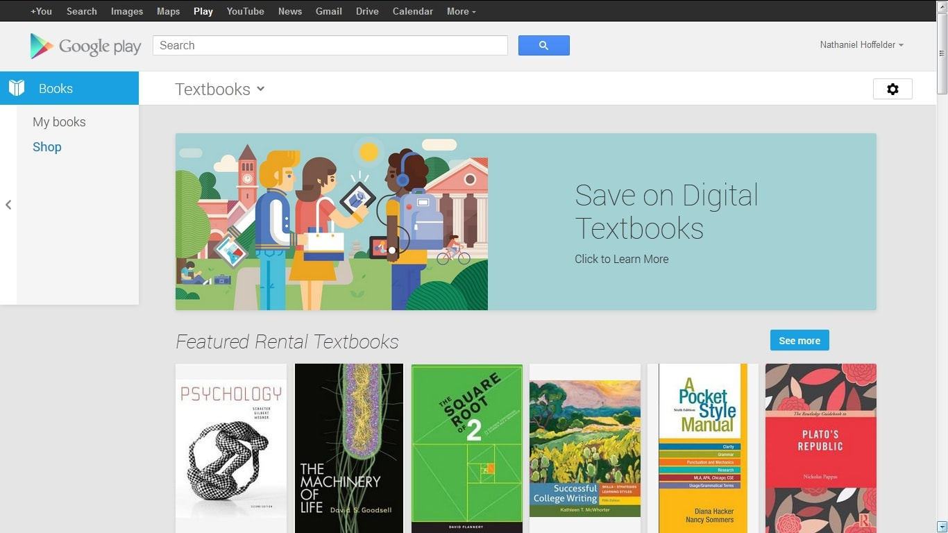 Google Now Selling & Renting Textbooks in Google Play Books