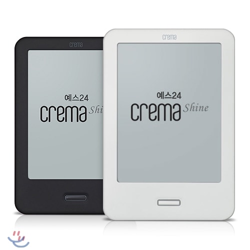 Crema Shine E-ink Android Tablet Launched in South Korea - Android 4.0, Frontlight, & More e-Reading Hardware