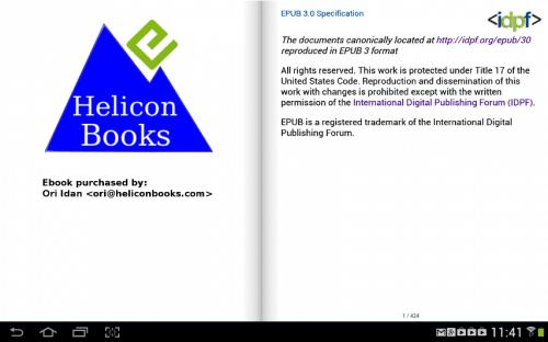 Helicon Books Announces Social DRM Solution DRM