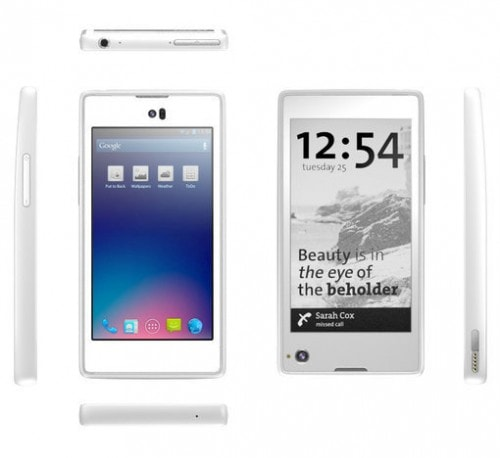 E-ink Equipped Yotaphone to Ship in Europe in November, Will Cost 500 Euros e-Reading Hardware