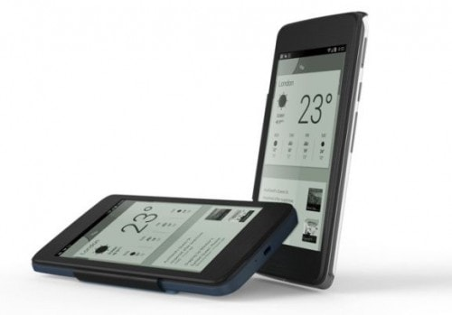 "Alcatel Unveils New 6"" Smartphone With E-ink Cover, Pen Input e-Reading Hardware"