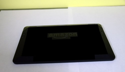 Leaked Photos Reveal a New Look for Kindle Fire HD e-Reading Hardware