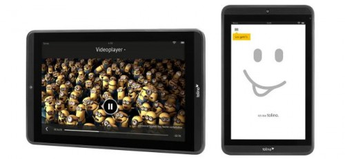 "Tolino Launches 7"", 8.9"" Android Tablets in Germany (video) e-Reading Hardware"