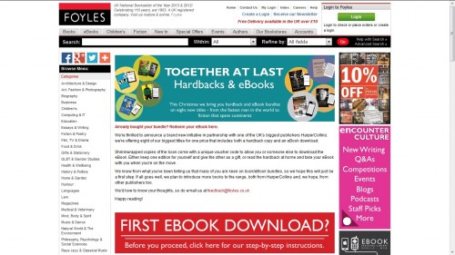 HarperCollins to Test Overpriced eBook Bundles in the UK Uncategorized