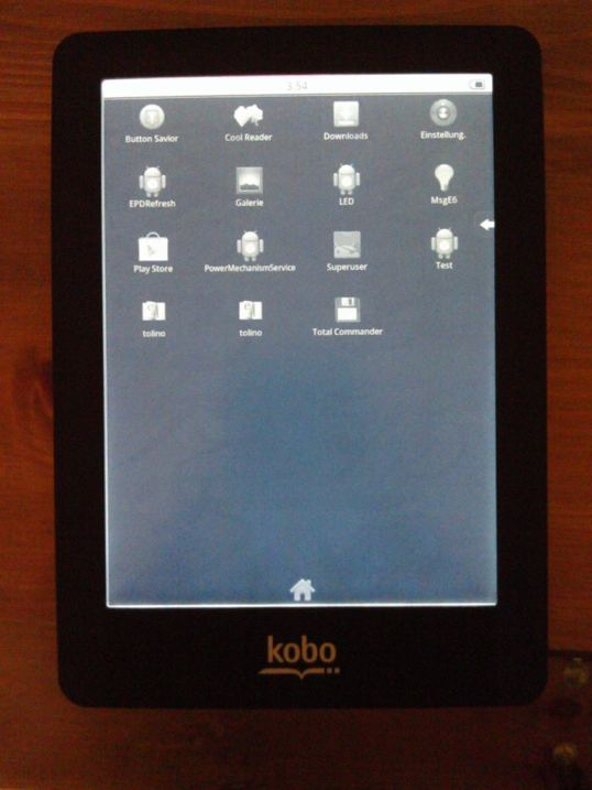 Kobo Glo Hacked (Again) - Now Runs Android e-Reading Hardware
