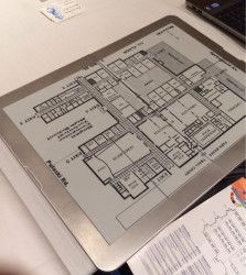 "A Brief Hands On With Printless Plans' 21"" eReader Conferences & Trade shows e-Reading Hardware"