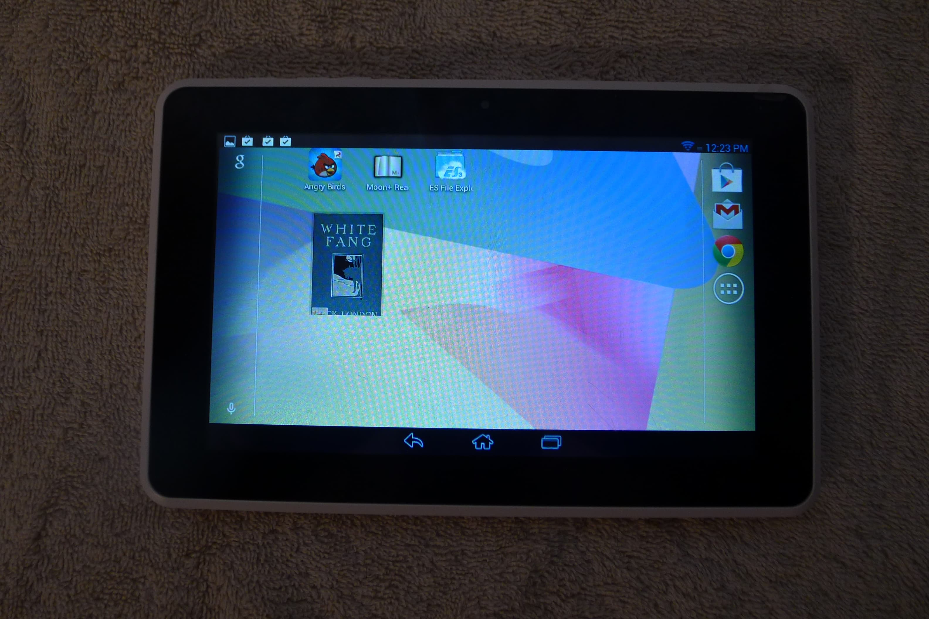 android tablet reviews review hp mesquite android tablet the digital reader 21960