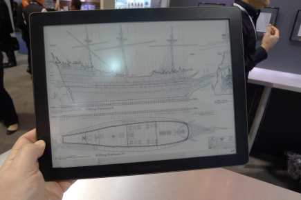 """$574 Pocketbook CAD Reader Delayed Until Next Year, Will Have a 13.3"""" Mobius E-ink Screen E-ink e-Reading Hardware"""