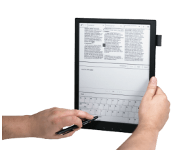 "Sony's 13.3"" eReader to Ship in the US in May, Will Cost $1,100 E-ink e-Reading Hardware"