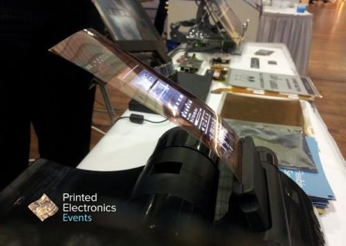 "Plastic Logic Unveils a 4"" Flexible OLED Screen Screen Tech"