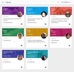 Google Debuts Classroom, a Free Apps for Education Tool Education Google